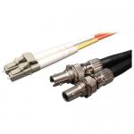 0.3M DUPLEX MULTIMODE FIBER OPTIC 50/125 ADAPTER LC/ST M/F 1FT 0.3 METER