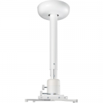 Ceiling mount for projector - white - ceiling mountable - for ViewSonic LS625 LS700 LS850 LS900 PA505 PG706 PS501 PS600 PX703 PX725 X10