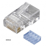 10-PACK RJ45 UNSHIELDED MODULAR PLUG 6-WIRE