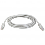 10ft Cat5e / Cat5 350MHz Molded Patch Cable RJ45 M/M Gray 10 - Patch cable - RJ-45 (M) to RJ-45 (M) - 10 ft - UTP - CAT 5e - molded stranded - gray - for P/N: N032-001 N050-012 N052-012 N052-048 N052-048-1U N053-024-RBGY P450-000