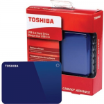 1TB CANVIO ADVANCE BLUE2.5INUSB 3.0 / 2.02 YEARS LIMITED WARRANTY