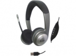 Multimedia Connectland Headset - Stereo - USB Mini-phone - Wired - 32 Ohm - 20 Hz - 20 kHz - Over-the-head - Binaural - Ear-cup