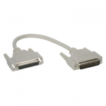25ft DB25 M/F Extension Cable - DB-25 Male Serial - DB-25 Female - 25ft - Beige