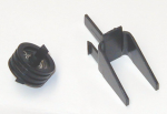 Belt tensioner kit - Keeps carriage belt tight - Includes pulley and pulley mount bracket