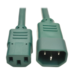 2FT HEAVY DUTY POWER EXTENSION CORD 15A
