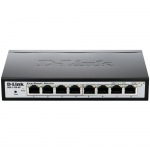 Ethernet Switch - 8 Ports - Manageable - 10/100/1000Base-T - 2 Layer Supported - DesktopLifetime Limited Warranty