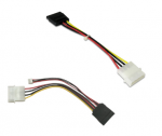 4P POWER TO 15PIN SATA POWER CABLE
