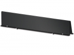 Shielding Partition Solid 750mm wide - Cable Manager - Black