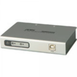 2-port USB-to-Serial RS-422/485 Hub - 2 x 9-pin DB-9 Male RS-422/485 Serial 1 x 4-pin Type B Female USB 2.0 USB USB