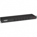 19IN (6) FRONT OUTLET RACKMOUNT SWITCHABLE POWER STRIP