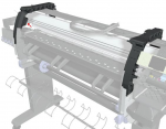 Right side arc assembly - Brace that is used for the cover assemblies to connect onto
