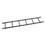 Power Cable Ladder 12 inch (30cm) wide - Cable Ladder - Black
