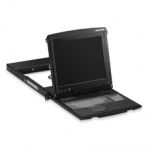 16-PORT 17IN LCD CONSOLE DRAWER WITH CATX KVM SWITCH
