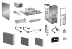 Solenoid lock assembly - Includes lock switch and cable