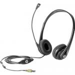 Business Headset v2 - Headset - full size - wired - promo - for HP 280 G4 Desktop Pro A 300 G3 Elite Slice G2 EliteDesk 705 G5 ProOne 400 G5 440 G5
