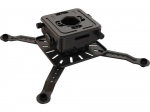 HEAVY DUTY COMPACT SIZE UNIVERSAL PROJECTOR MOUNT. BLACK ANODIZED ALUMINUM CONS
