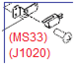 Approach switch assembly - Includes approach switch plate and microswitch (MS33)