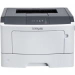 MS312dn - Printer - monochrome - Duplex - laser - A4/Legal - 1200 x 1200 dpi - up to 33 ppm - capacity: 300 sheets - parallel USB 2.0 LAN