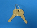 Keys - For door of Rack S10614 only - Includes two keys