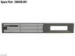 Front bezel - For HSV110 Controller in an Enterprise Virtual Array 5000 (EVA5000)