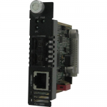 C-1000-M2SC05 Gigabit Ethernet Media Converter Module - 1 x Network (RJ-45) - 1 x SC Ports - 10/100/1000Base-T 1000Base-SX - Internal