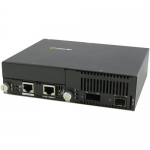 10 Gigabit Ethernet IP-Managed Stand-Alone Media Converter with One XFP Slot - Yes - 10GBase-X - 2 x Expansion Slots - 1 x SFP Slots - 1 x SFP+ Slots - Wall Mountable Rail-mountable Rack-mountable