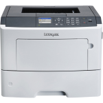MS610DE Laser Printer - Monochrome - 1200 x 1200 dpi Print - Plain Paper Print - Desktop - 50 ppm Mono Print - 650 sheets Input - Automatic Duplex Print - Gigabit Ethernet - USB