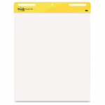 Post-it Self-Stick Easel Pad - 30 Sheet - 25 inch x 30 inch - White Paper
