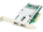 10Gbs Dual Open SFP+ Port PCIe x8 Network Interface Card - Cost effectively add additional ports and connectivity