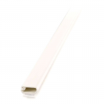 2 pack 6ft Wiremold Uniduct 2700 - Ivory - Raceway - Ivory - 20 Pack - Polyvinyl Chloride (PVC)
