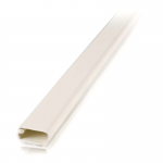 2 pack 6ft Wiremold Uniduct 2800 - Ivory - Raceway - Ivory - 20 Pack - Polyvinyl Chloride (PVC)