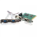 LAVAANDTRADE; QUATTRO-PCI 4-PORT PCI 16550 DB9 SERIAL CARD