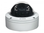 DCS 6517 - Network surveillance camera - dome - outdoor - vandal / weatherproof - color (Day&Night) - 5 MP - 2560 x 1920 - vari-focal - audio - LAN 10/100 - MJPEG H.264 - DC 12 V / PoE