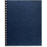 Linen Presentation Covers - Letter Navy 200 Pack - Letter - 8.50 inch Width x 11 inch Length Sheet Size - Linen - Navy - 200 / Pack