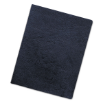 Executive Presentation Covers Oversize - Polyvinyl chloride (PVC) - 222 x 286 mm - navy - 50 pcs. binding cover