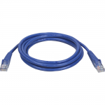 10ft Cat5e / Cat5 Snagless Molded Patch Cable RJ45 M/M Blue 10 - Patch cable - RJ-45 (M) to RJ-45 (M) - 10 ft - UTP - CAT 5e - booted snagless - blue - for P/N: B030-008-17-IP BHDBT-K-E3SI-ER BHDBT-K-E3SI-LR BHDBT-K-E3SPI-L