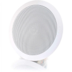 Cables To Go 5in Ceiling Speaker - White - 100 Hz to 20 kHz - 8 Ohm - Ceiling Mountable