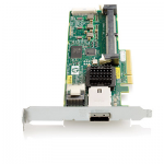 Smart Array P212 controller board - PCIe x8 SAS controller - Has one internal x4 mini-SAS port and one external x4 mini-SAS port - Does not include memory or backup power
