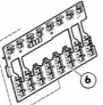 Midplane board assembly - processor / memory cell assemblies backplane board - Interconnects the four (or eight) processor / memory cell assemblies to the system I/O board