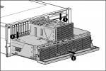 System processor and memory cartridge drawer assembly - Includes the system processor memory cartridge board in the slide-out drawer assembly
