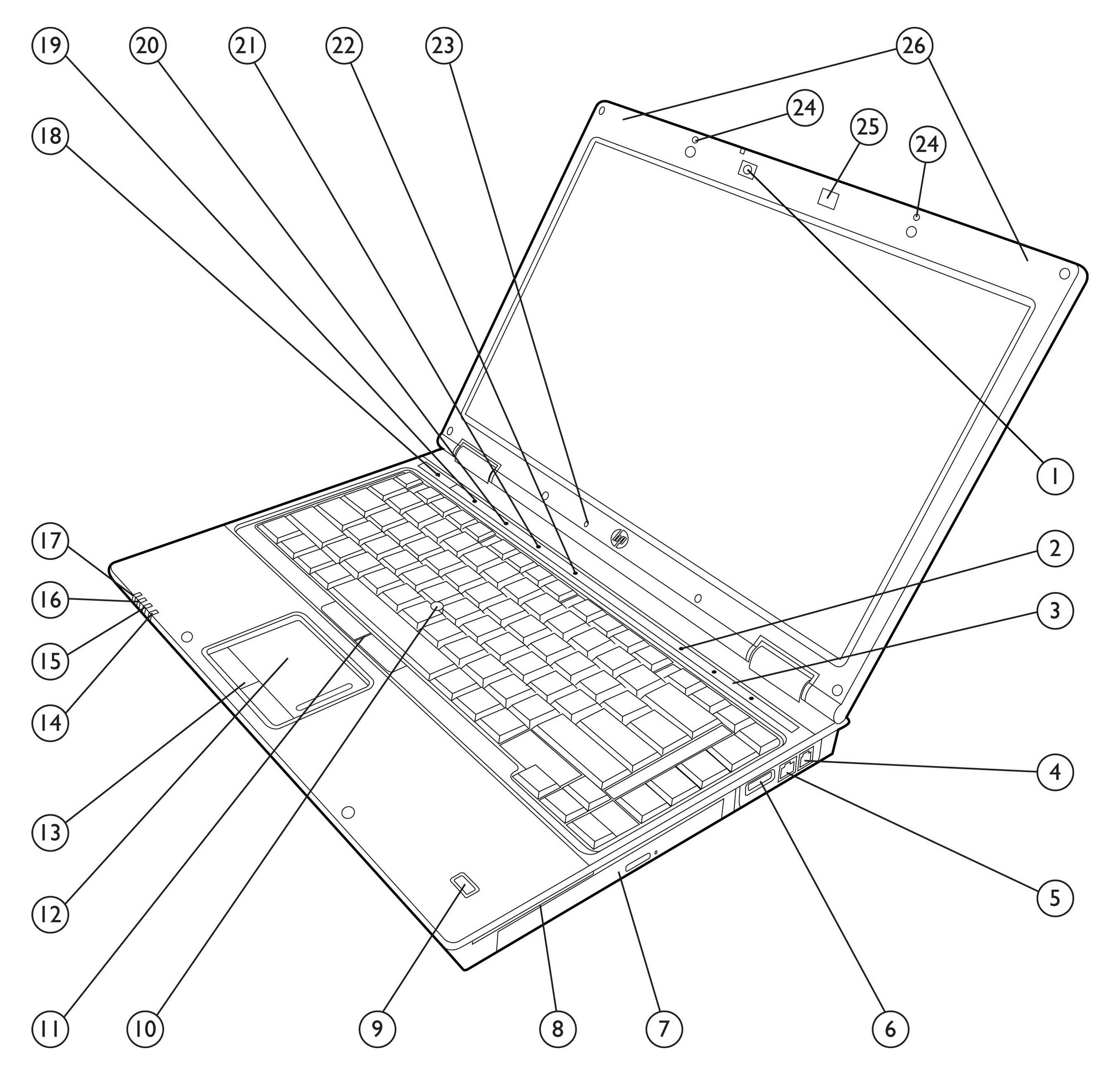 quickspecs hp elitebook 8440p notebook pc Power Drain Opener