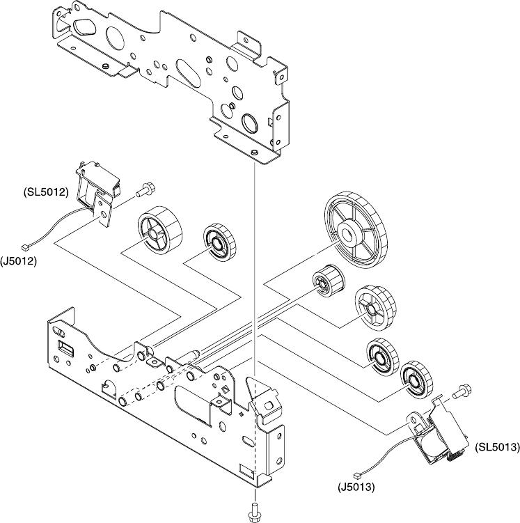 Hp Color Laserjet 300036003800 Series Printers Service Manual