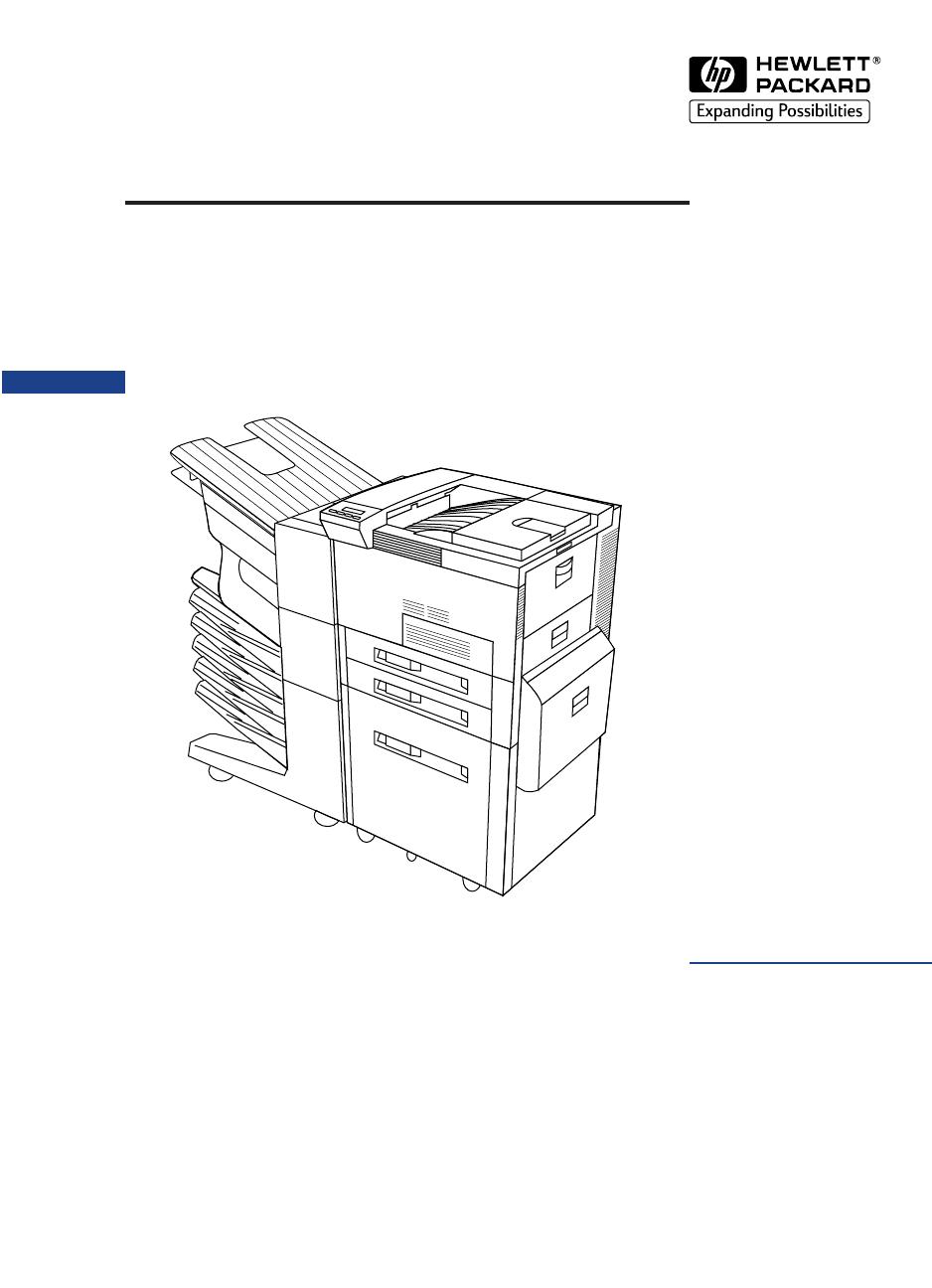 hp laserjet 8100 8100n 8100dn and paper handling devices service manual rh dectrader com HP LaserJet 8100 Printer Driver Windows 7 HP LaserJet 8100 DN