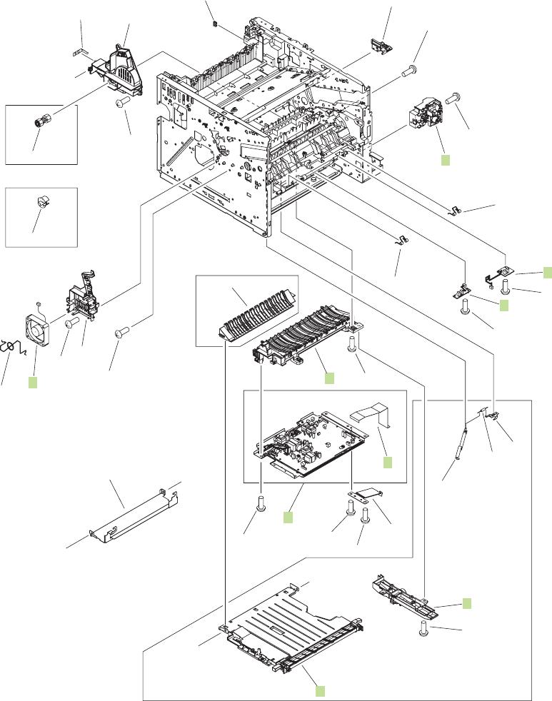 Rm1 6487 000cn Hp New Tray 2 Cassette Presence Pca Sensor Sw235
