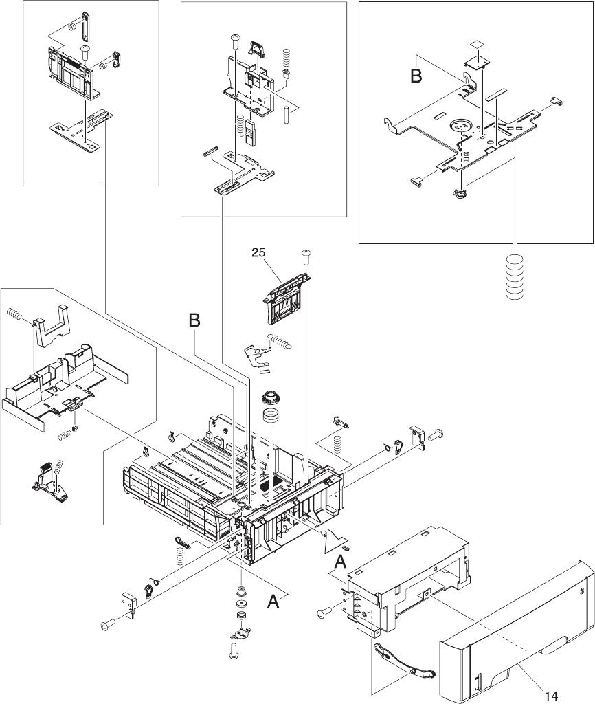 hp color laserjet 3000  3600  3800   cp3505 series printer