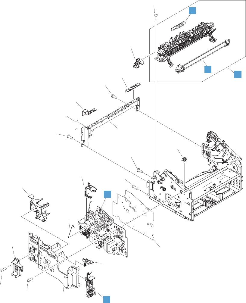 Laserjet Professional M1130 M1210 Mfp Series Service Manual 1212 Doc Schematic Technical Info Parts List Internal Assemblies