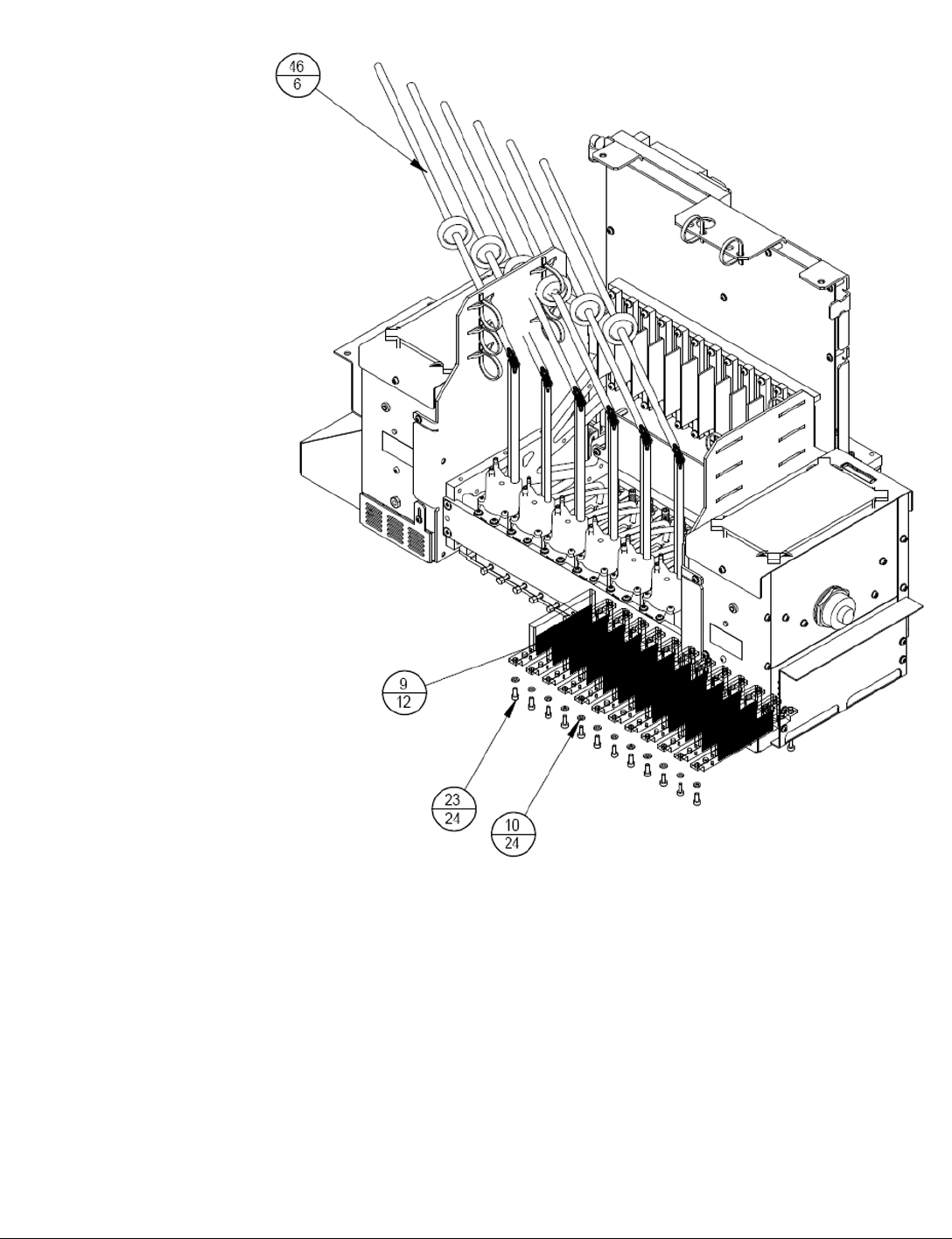 Cq114 67185 Hp New Light Blocking Shield Used With The Pair Of Pro Comp Pc 7003 Wiring Diagram 90035 Rev B Scitex Fb500 Fb700 Service Manual Page 44 510