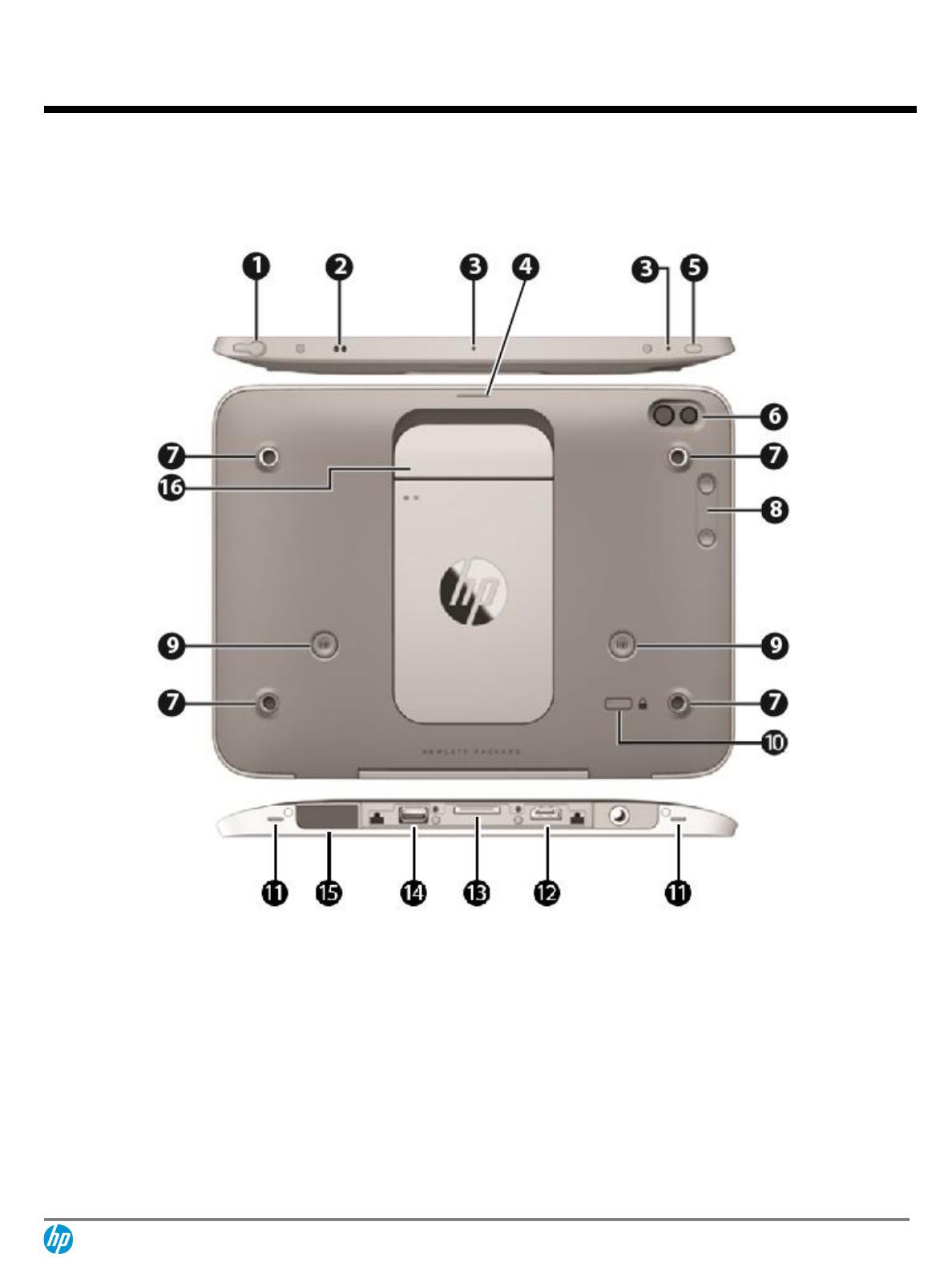 G4Y85AA HP Executive Capacitive stylus