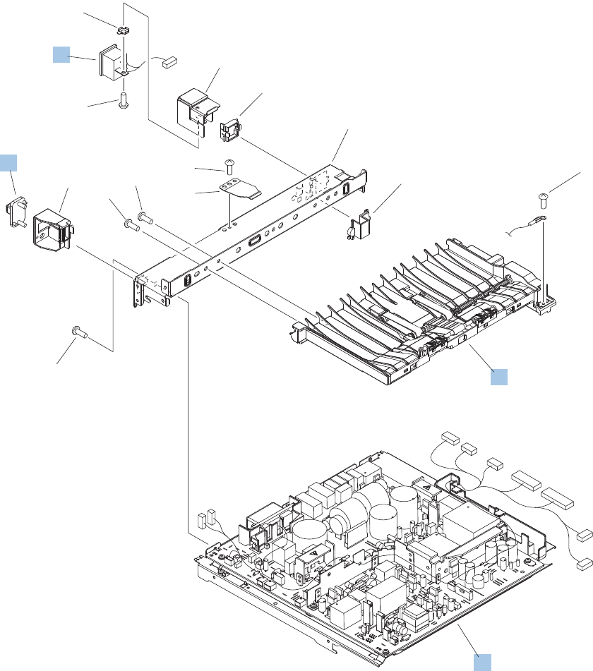 Rl1 1709 000cn Hp New Multi Bin Mailbox Solenoid Sl1302 Sl1303 Kicker Cs 67 Wiring Diagram High Voltage Power Supply