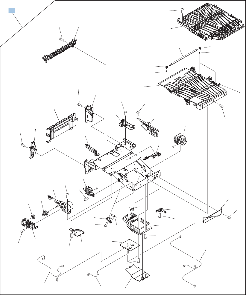 Hp Color Laserjet Cm4540 Mfp Service Manual 1212 Doc Schematic Technical Info Parts List Intermediate Paper Transfer Unit Iptu